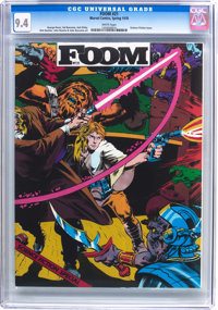Foom #21 (Marvel, 1978) CGC NM 9.4 White pages