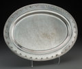Silver Holloware, American:Platters, A Tiffany & Co. Saint Dunstan Pattern Silver MeatPlatter, New York, designed 1909, manufactured circa 1909-1947...