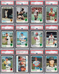 Baseball Cards:Sets, 1973 Topps Baseball High Grade Complete Set (660). ...