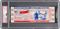 Baseball Collectibles:Tickets, 1957 All-Star Game Full Ticket, PSA Authentic. ...
