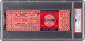 Baseball Collectibles:Tickets, 1952 All-Star Game Full Ticket, PSA Authentic. ...