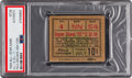 Baseball Collectibles:Tickets, 1934 All-Star Ticket Stub, PSA/DNA Authentic. ...