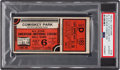 Baseball Collectibles:Tickets, 1933 All-Star Game Ticket Stub Orange Variation, PSA Authentic. ...