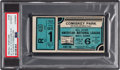 Baseball Collectibles:Tickets, 1933 All-Star Game Ticket Stub Blue Variation, PSA Authentic. ...