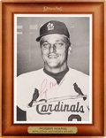 Autographs:Sports Cards, Signed 1967-68 Roger Maris Spalding Advisory Staff Premium. ...