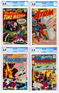 Silver Age (1956-1969):Miscellaneous, Showcase CGC-Graded Group of 4 (DC, 1963-65) CGC GD/VG 3.0....(Total: 4 Comic Books)