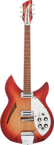 Musical Instruments:Electric Guitars, 1967 Rickenbacker 335 Fireglo Semi-Hollow Body Electric Guitar,Serial #GC 1147....
