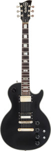 Musical Instruments:Electric Guitars, Circa 1978 Electra MPC X310 Black Solid Body Electric Guitar....
