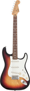 Musical Instruments:Electric Guitars, 1970's Tokai Springy Sound Sunburst Solid Body Electric Guitar,Serial # 9040009/45....