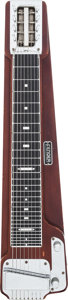 Musical Instruments:Lap Steel Guitars, Circa 1949 Fender Stringmaster? Walnut Lap Steel Guitar, #222....
