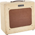 Musical Instruments:Amplifiers, PA, & Effects, 1951 Fender Deluxe Tweed Guitar Amplifier, Serial # 4354....