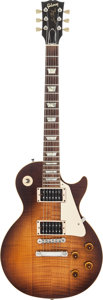 Musical Instruments:Electric Guitars, 1990 Gibson Les Paul Sunburst Solid Body Electric Guitar, #90315....