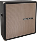 Musical Instruments:Amplifiers, PA, & Effects, Circa 1974 Sound City Black Guitar Speaker Cabinet, #7307193....