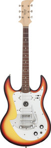 Musical Instruments:Electric Guitars, Circa 1967 Standel Custom Sunburst Solid Body Electric Guitar,#2-201....