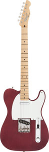 Musical Instruments:Electric Guitars, Circa 1985 Tokai Breezy Sound Cherry Solid Body Electric Guitar,Serial #20135....