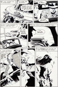 Original Comic Art:Panel Pages, Dave Stevens Pacific Presents #2 Story Page 4 RocketeerOriginal Art (Pacific, 1983)....
