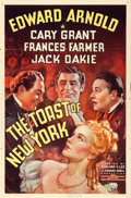 "Movie Posters:Drama, The Toast of New York (RKO, 1937). One Sheet (27"" ..."