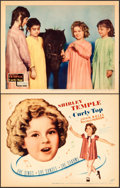 "Movie Posters:Musical, Curly Top (Fox, 1935). Title Lobby Card and Lobby Card (11"" X14"").. ... (Total: 2 Items)"