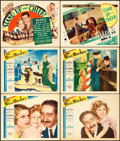 """Movie Posters:Comedy, Little Miss Marker & Other Lot (Paramount, 1934). Lobby Cards(5) & Title Lobby Card (11"""" X 14"""").. ... (Total: 6 Items)"""