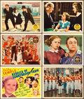"Movie Posters:Musical, Rebecca of Sunnybrook Farm and Other Lot (20th Century Fox, 1938). Title Lobby Card and Lobby Cards (5) (11"" X 14"").. ... (Total: 6 Items)"
