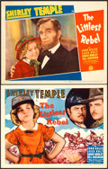 "Movie Posters:Musical, The Littlest Rebel (20th Century Fox, 1935). Title Lobby Card &Lobby Card (11"" X 14"").. ... (Total: 2 Items)"