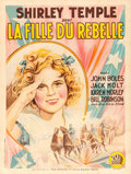 "Movie Posters:Musical, The Littlest Rebel (20th Century Fox, 1935). French Grande (47.5"" X62.75"").. ..."