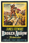 "Movie Posters:Western, Broken Arrow (20th Century Fox, 1950). One Sheet (27"" X 41"").. ..."