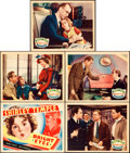 "Movie Posters:Comedy, Bright Eyes (Fox, 1934). Title Lobby Card and Lobby Cards (4) (11""X 14"").. ... (Total: 5 Items)"