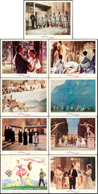 "The Sound of Music (20th Century Fox, 1965). Lobby Card Set of 9 (11"" X 14"") Howard Terpning Title Card Artwor..."