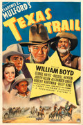 "Movie Posters:Western, Texas Trail (Paramount, 1937). One Sheet (27.5"" X 41"").. ..."