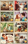 "Movie Posters:Film Noir, Leave Her to Heaven (20th Century Fox, 1945). Lobby Card Set of 8(11"" X 14"").. ... (Total: 8 Items)"