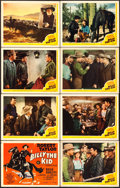 "Movie Posters:Western, Billy the Kid (MGM, 1941). Lobby Card Set of 8 (11"" X 14"").. ... (Total: 8 Items)"