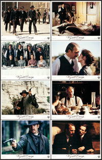 "Wyatt Earp (Warner Brothers, 1994). Lobby Card Set of 8 (11"" X 14""). ... (Total: 8 Items)"