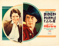 "Movie Posters:Western, Riders of the Purple Sage (Fox, 1931). Half Sheet (22"" X 28"") HalPhyfe Photography.. ..."