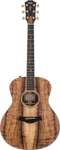 Musical Instruments:Acoustic Guitars, 2001 Taylor Custom GS Natural Acoustic Guitar, #1108143142....