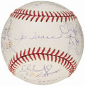 Autographs:Baseballs, 2001 New York Yankees Team Signed Baseball (28 Signatures). ...