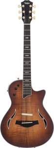 Musical Instruments:Electric Guitars, 2014 Taylor T5Z Custom Natural Acoustic Electric Guitar,#1103204155....