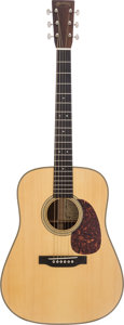 Musical Instruments:Acoustic Guitars, 2001 Martin D-28 GE Natural Acoustic Guitar, #801905....
