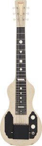 Musical Instruments:Lap Steel Guitars, 1950 English Electronics Tonemaster Pearloid Lap Steel Guitar, #T27540....