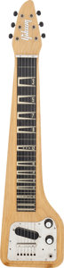Musical Instruments:Lap Steel Guitars, 1960 Gibson Skylark Korina Lap Steel Guitar, #07373....