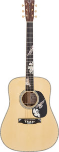 Musical Instruments:Acoustic Guitars, 2013 Martin D-41K Purple Martin Natural Acoustic Guitar, #1690058....