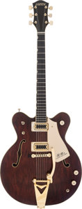 Musical Instruments:Electric Guitars, 1973 Gretsch Model 7670 Country Gentleman Red/Brown Stain Semi-Hollow Body Electric Guitar, #3-3012....