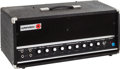 Musical Instruments:Amplifiers, PA, & Effects, Circa 1969 Univox Black Amplifier Head, #55625....