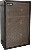 Musical Instruments:Amplifiers, PA, & Effects, Circa 1970s Sunn 6105 Black Guitar Speaker Cabinet....