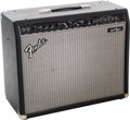 Musical Instruments:Amplifiers, PA, & Effects, Fender Princeton Chorus Black Guitar Amplifier, #LO-634019....