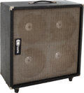 Musical Instruments:Amplifiers, PA, & Effects, Circa 1970 Sunn 410S Black Guitar Speaker Cabinet....