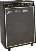 Musical Instruments:Amplifiers, PA, & Effects, Circa 1960s Alamo Fury Black Guitar Amplifier....