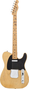 Musical Instruments:Electric Guitars, 1952 Fender Telecaster Butterscotch Blonde Solid Body ElectricGuitar, Serial # 2858....