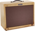 Musical Instruments:Amplifiers, PA, & Effects, 1956 Fender Deluxe Tweed Guitar Amplifier and Extension, Serial#D01566 + 0102.... (Total: 2 )