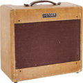 Musical Instruments:Amplifiers, PA, & Effects, 1954 Fender Deluxe Tweed Guitar Amplifier, Serial # 1335....